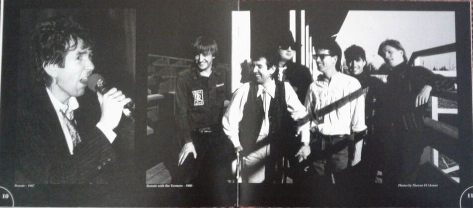 Ronnie Lane - Live in Austin - CD booklet photo sample