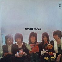 Faces - The First Step 1970, album front cover