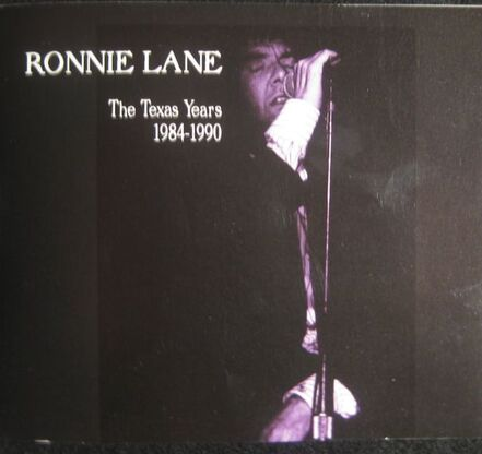 Ronnie Lane  - Live in Austin - Front Cover of Booklet