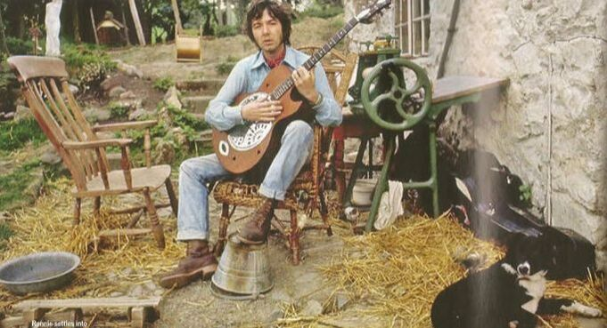 Ronnie Lane - Shindig Magazine 2017 Zemaitis acoustic resonator guitar