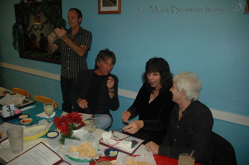 George Reiff, JoRae Di Menno and Ian McLagan