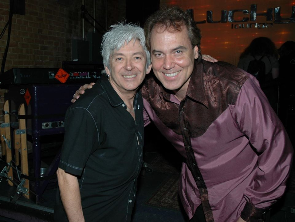 Mark Bowman Images- Ian McLagan and Mark Bowman Mac Day in Austin Texas April 2006