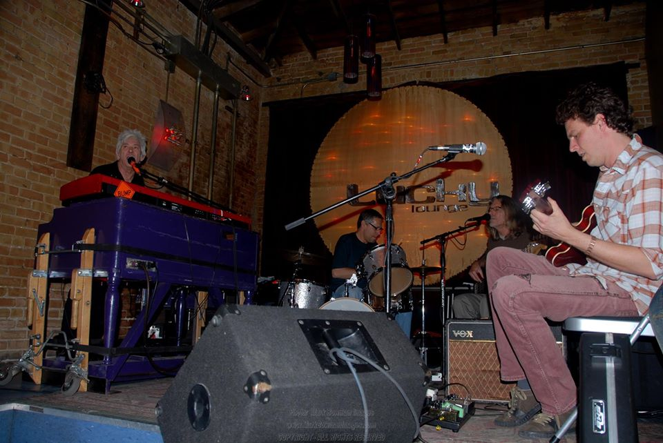 Mark Bowman Images - Ian McLagan and The Bump Band - Lucky Lounge Austin 2009
