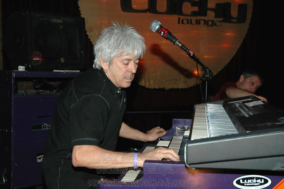 Mark Bowman Images- Ian McLagan on the B3 at The Lucky