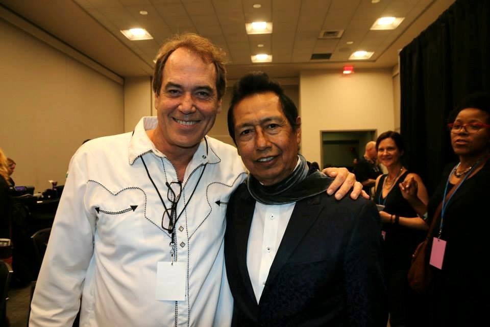 Mark Bowman Images - Mark Bowman and Alejandro Escovedo backstage Austin Music Awards SXSW March 18 2015