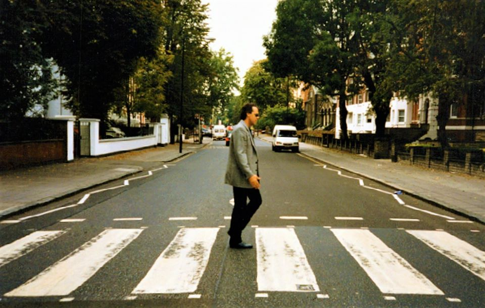 Mark Bowman Images - Mark Bowman at Abbey Road St Johns Wood London 1997