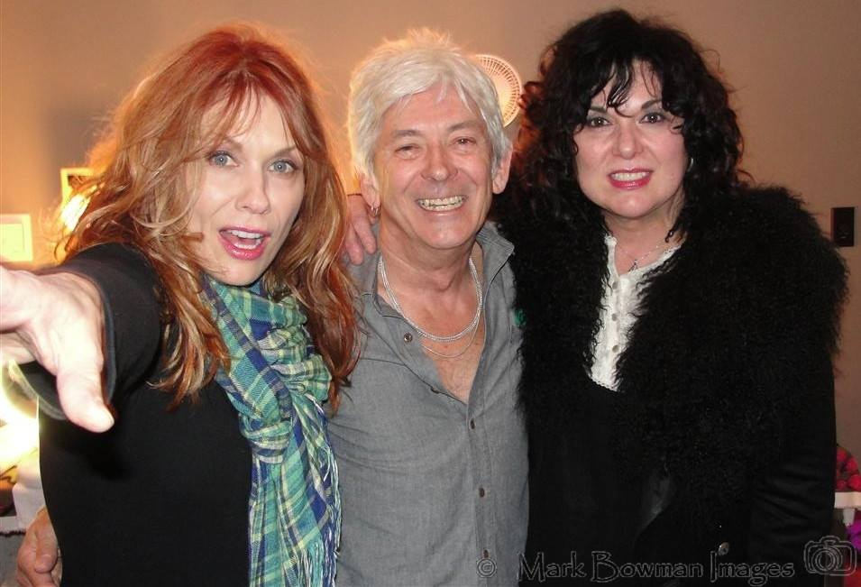 Mark Bowman Images- Nancy Wilson Ian McLagan Ann Wilson ACL Theater Austin Texas 2011