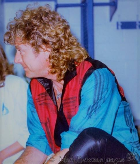 Mark Bowman Images - Robert Plant Houston Texas The Summit June 22 1985