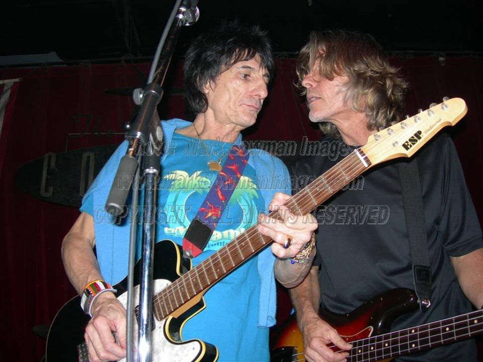 Mark Bowman Images- Ron Wood and Mark Andes Houston 2005