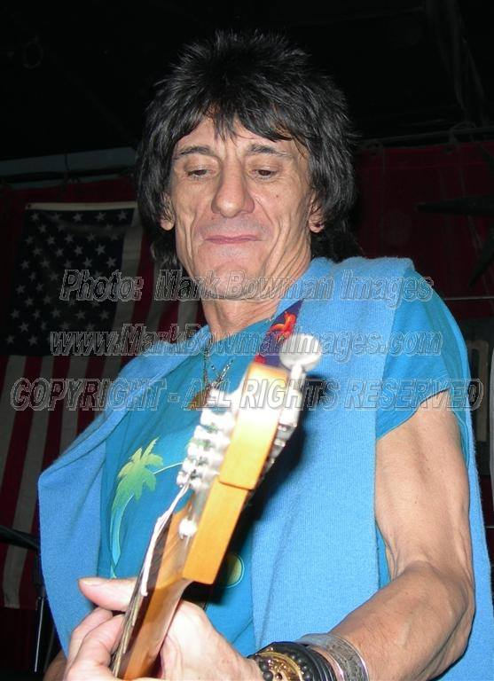 Mark Bowman Images- Ron Wood Houston 2005