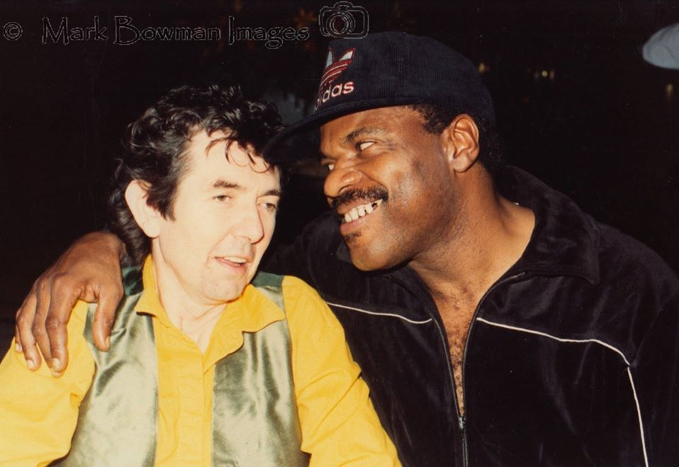 Mark Bowman Images - Ronnie Lane and Billy Preston Dallas Texas July 23 1989
