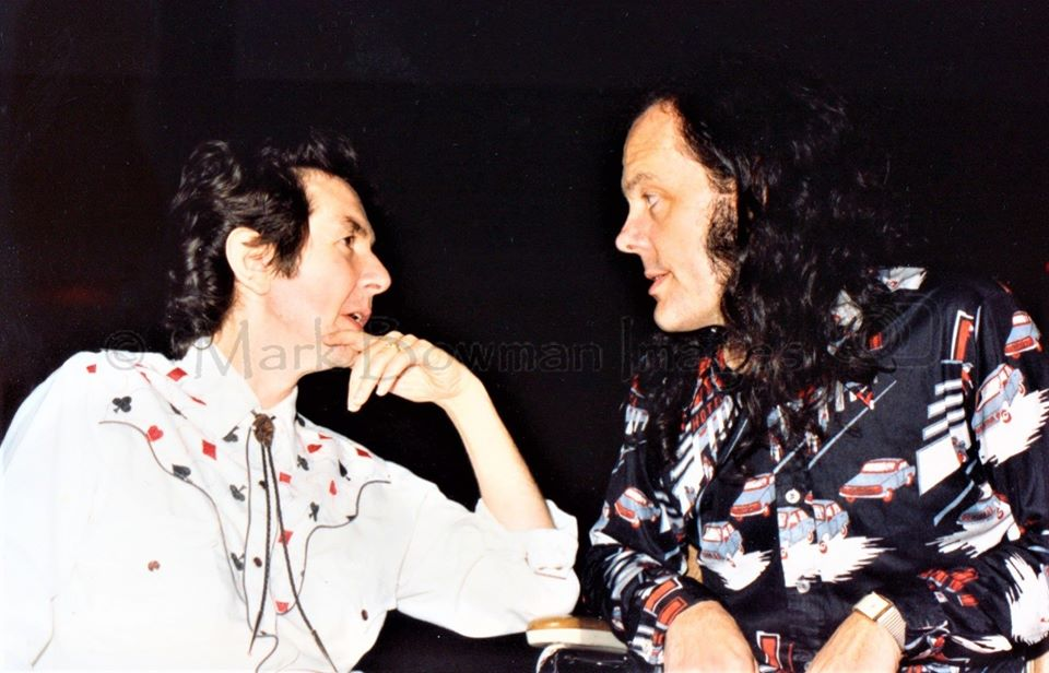 Ronnie Lane & David Lindley Houston, Texas - 1989 This was the night of