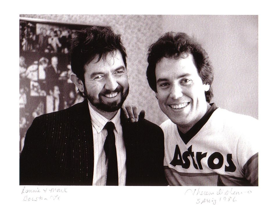 Mark Bowman Images- Ronnie Lane and Mark Bowman - Ronnie Lane Last Night in Houston and Move to Austin April 1986 4