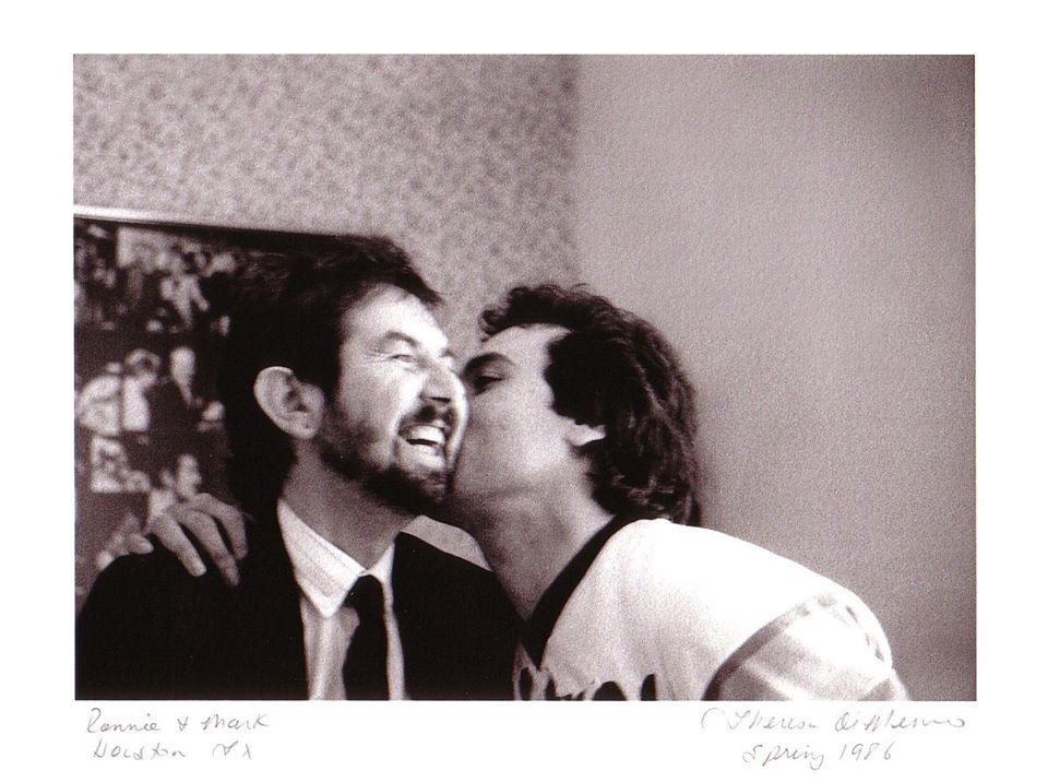 Mark Bowman Images- Ronnie Lane and Mark Bowman - Ronnie Lane Last Night in Houston and Move to Austin April 1986