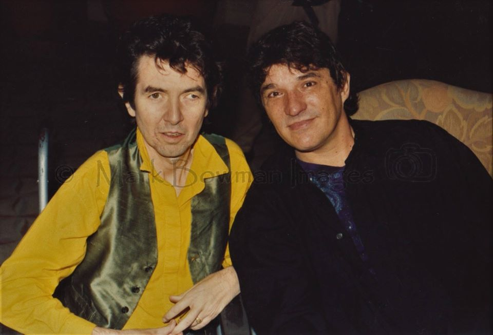 Mark Bowman Images - Ronnie Lane and Rick Danko of The Band Dallas Texas July 23 1989