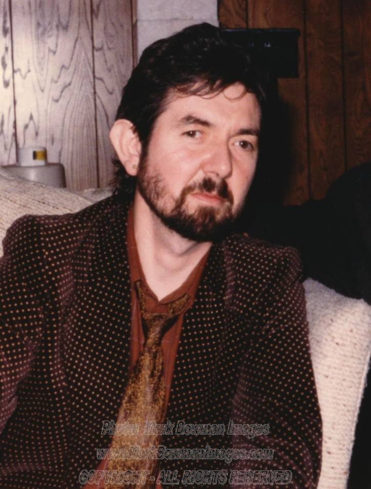 Mark Bowman Images- Ronnie Lane Texas April 1986