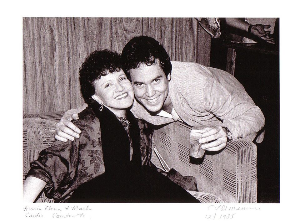 Mark Bowman Photography - Maria Elena Holly Buddy Holly Wife Dec 1985- Ronnie Lane Les Paul owner