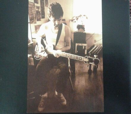 Ronnie Lane - Live in Austin - back Cover CD Booklet