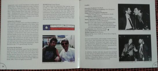Ronnie Lane - Live in Austin - Inside sample page 2