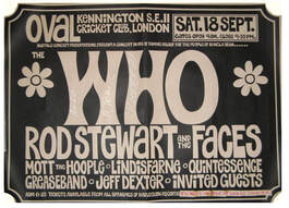 Faces Oval London September 18 1971 Playbill 6
