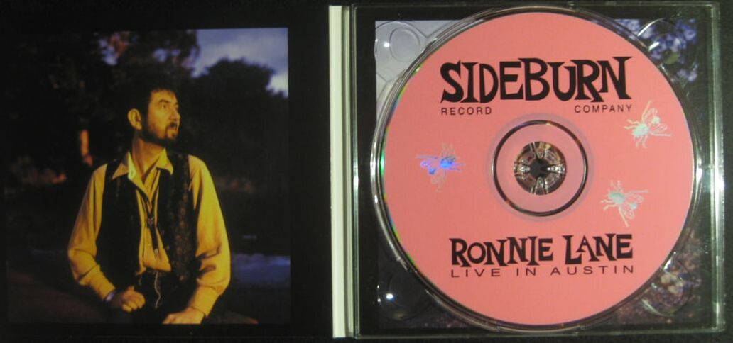 Ronnie Lane - Live in Austin - Inside with CD