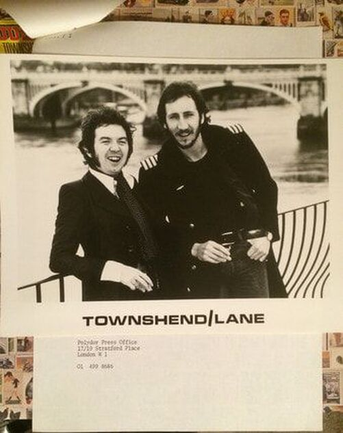 Ronnie Lane and Pete Townshend Rough Mix Album 1977 -Polydor photo