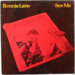 Ronnie Lane See Me Album 1980- front