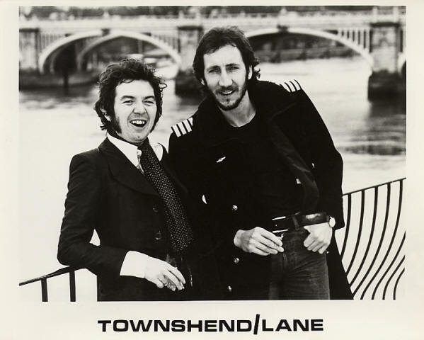Ronnie Lane and Pete Townshend Rough Mix Album 1977 -press photo 1