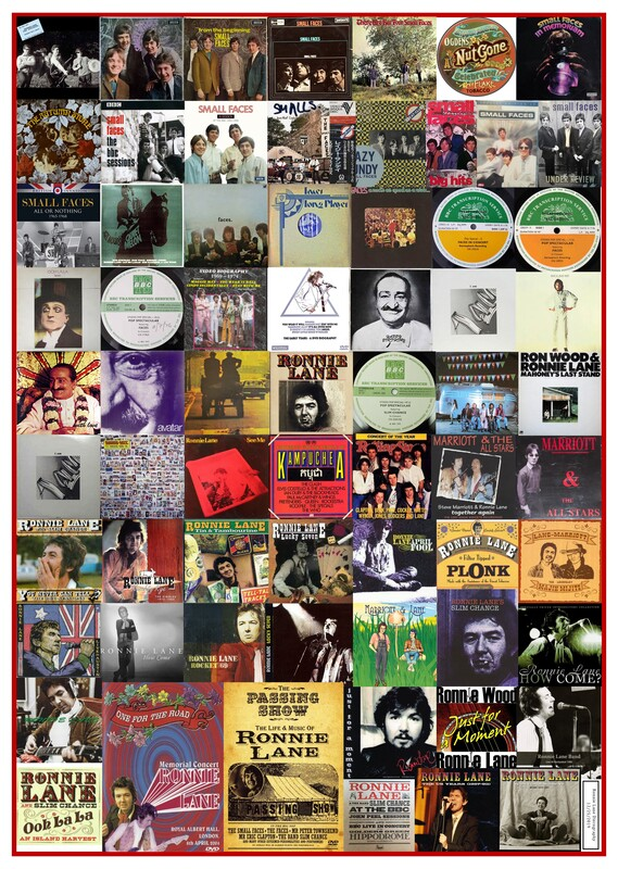 Ronnie Lane Discography All Album Covers -67