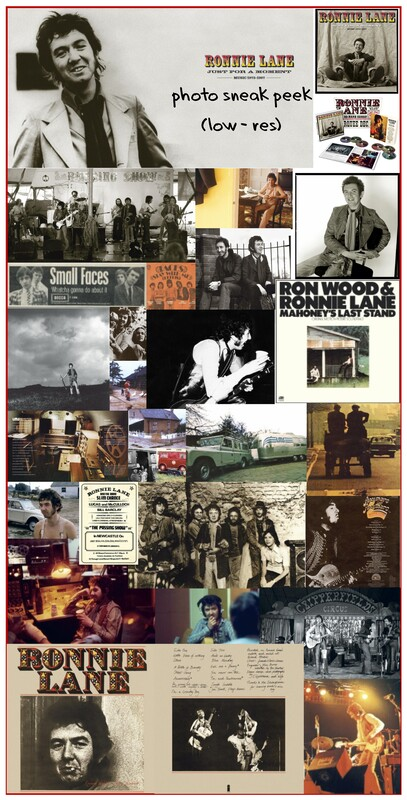 Ronnie Lane Just For A Moment 2019 liner notes photos pg 1