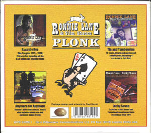 Ronnie Lane Plonk - 1999 Compilation album back cover