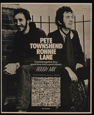 Rough Mix Album 1977 Promotional Poster 2