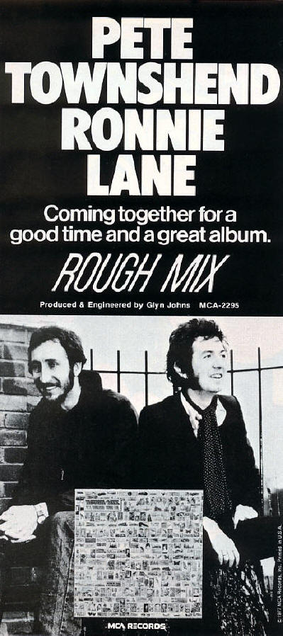 Rough Mix Album 1977 Promotional Poster 3