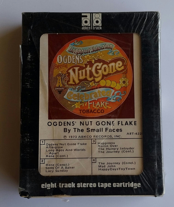 Small Faces Ogdens Nutgone Flake 1973 US Re-release 8-track- front